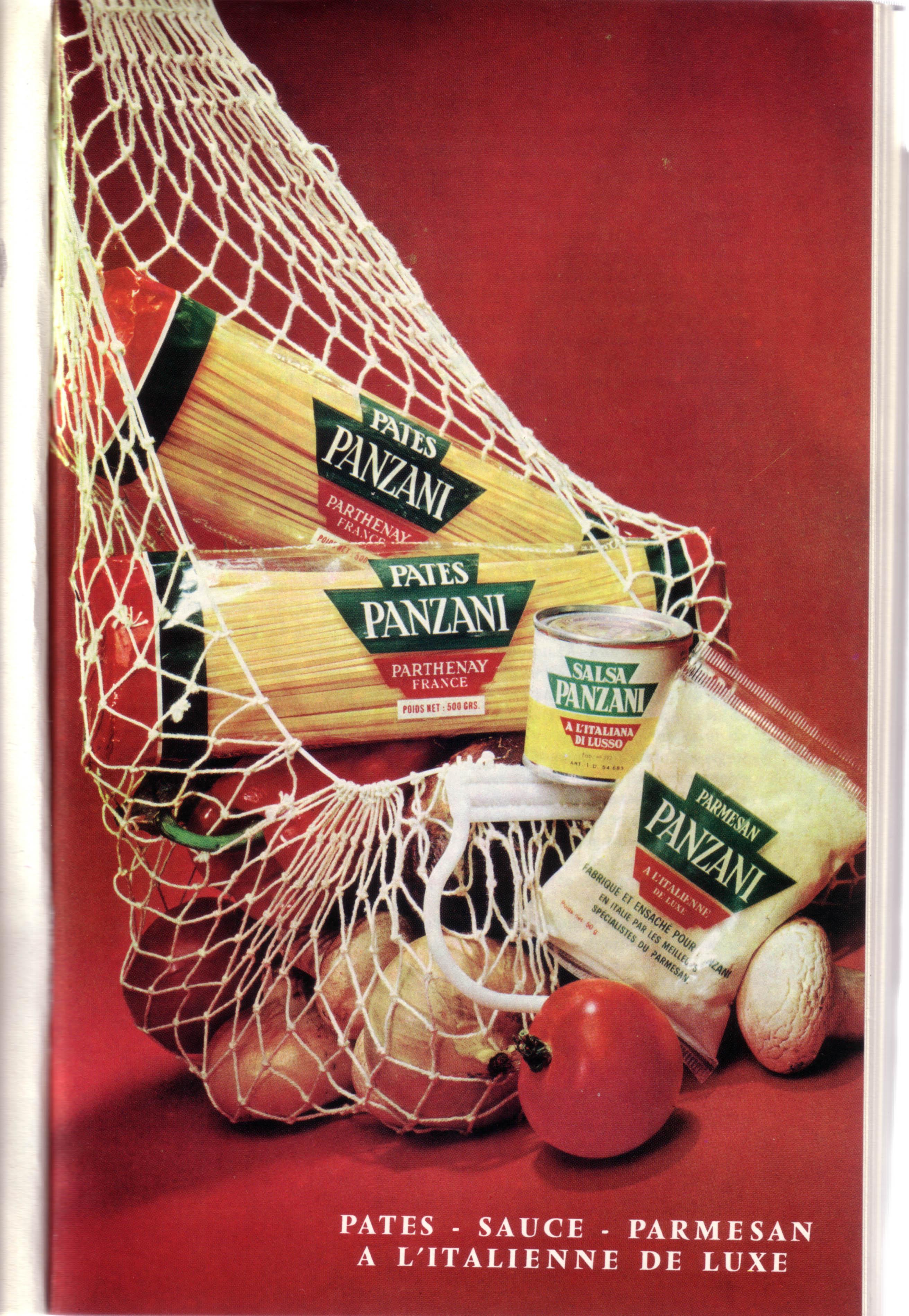 Publicité Panzani