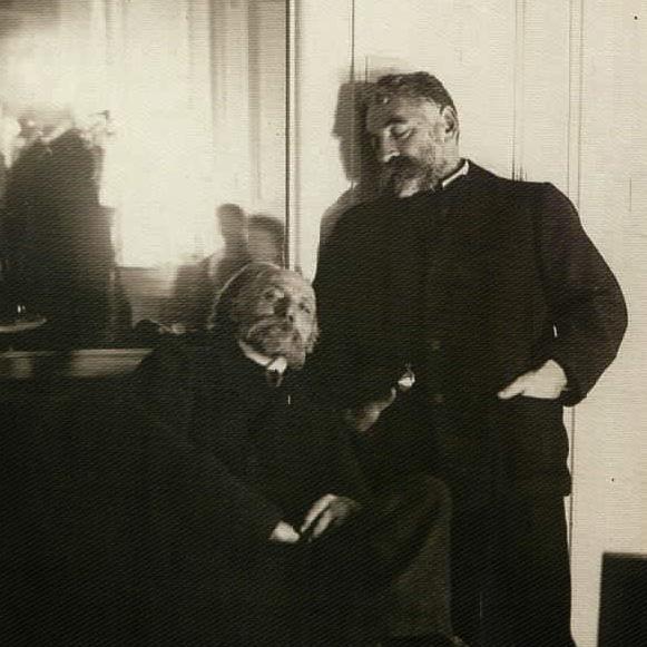 Edgar Degas, Auguste Renoir et Stéphane Mallarmé