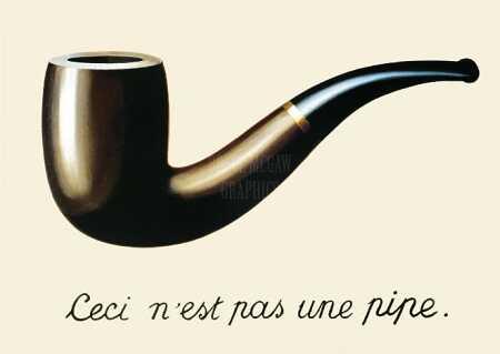 la trahison des images peinture d'une pipe sémiologie