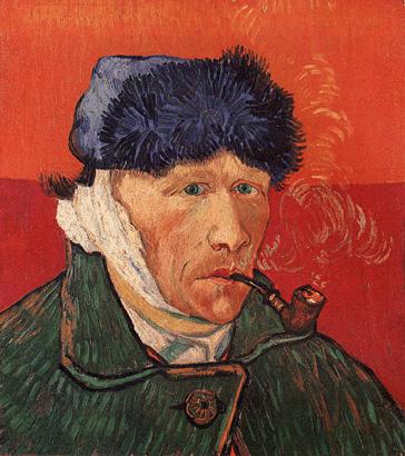 L'autoportrait de Van Gogh à l'oreille bandée